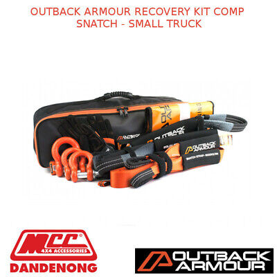 Outback Armour Recovery Kit Comp Snatch - Small Truck