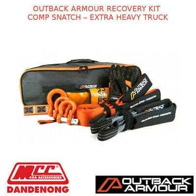 Outback Armour Recovery Kit Comp Snatch - Extra Heavy Truck