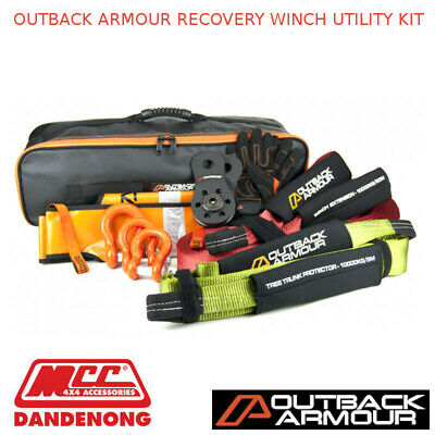 Outback Armour Recovery Winch Utility Kit