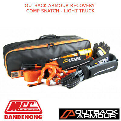 Outback Armour Recovery Comp Snatch - Light Truck