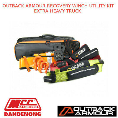 Outback Armour Recovery Winch Utility Kit Extra Heavy Truck