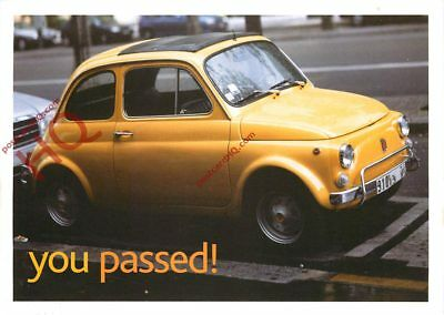 Picture Postcard, Ebay Motors Advertising, 'You Passed!'