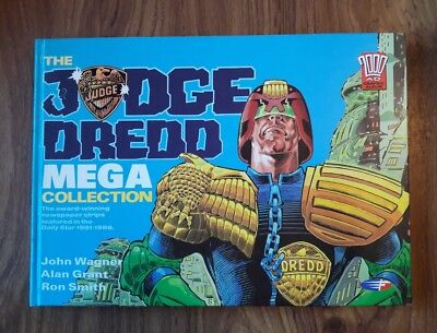 Judge Dredd Mega Collection Rare Hardback 2000 A.d. Strips In Daily Star 1981-86