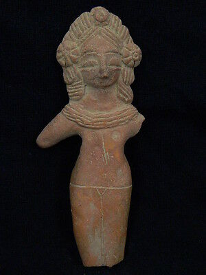 Ancient Large Size Teracotta Mother Goddess Indus Valley 600 BC  #TR6059