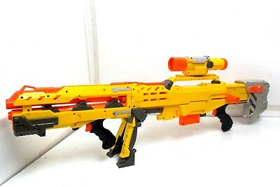 NERF N-Strike Longshot CS-6 Sniper Rifle Stock Toy Gun Blaster