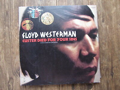 """Lp - Floyd Westerman - Custer Died For Your Sins """"topzustand!"""""""