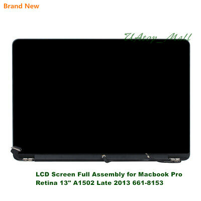 "For Macbook Pro Retina 13"" A1502 Late 2013 EMC2678 661-8153 LCD Screen Assembly"