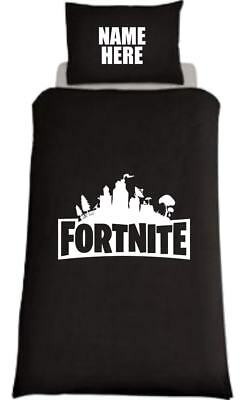 Fortnite Inspired Personalised Single Bed Duvet Cover Ps4