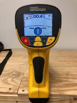 Metrotech Vivax vLocPro  VX200-2 cable pipe locator works great!