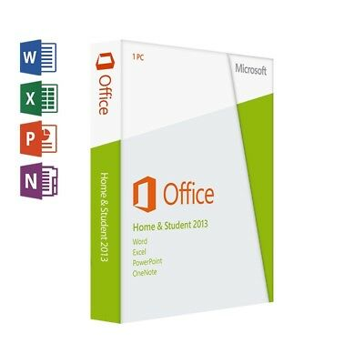 Microsoft Office Home and Student 2013 Produktkey/Sofortversand per E-Mail