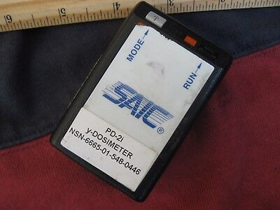 SAIC PD 2i dosimeter geiger counter radiation