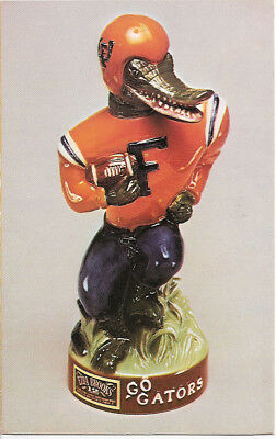 READ LISTING:Advertising Brochure/Pamphlet ONLY for Florida Gator Decanter