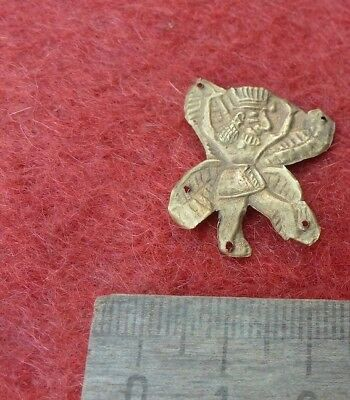 Sumerian gold  Marduk. Metal detector finds,Ultra rare Marduk gold