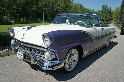 "Ford: Crown Victoria Skyliner 1955 Ford Crown Victoria Skyliner ""Glass Top"" (Continental), Extremely Rare."