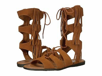 e952ed55adc6 MINNETONKA WOMEN S MILOS Fringe Gladiator Tall Sandals Brown ...