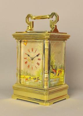 FINE REPEATING CARRIAGE CLOCK - Retailed by Martin and Co , Cheltenham