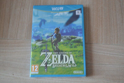 The legend of zelda Breath of the wild WII U, version française neuf ss blister