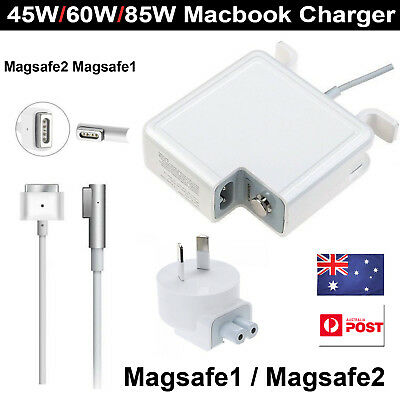45W 60W 85W AC Power Adapter Magsafe1 2 charger for Mac Pro 13 15 17""