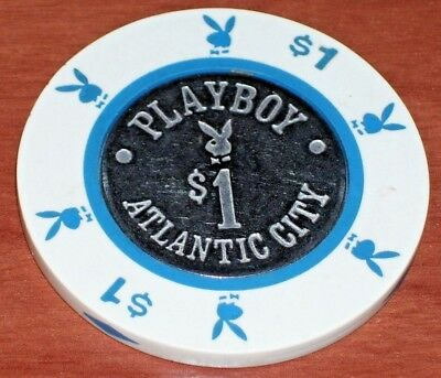 $1 1St Edition Gaming Chip From The Playboy Casino In Atlantic City