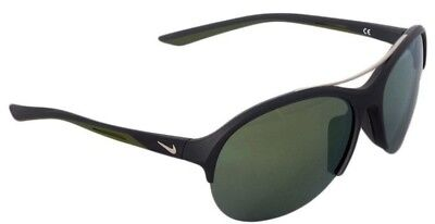 0446bbe0cb658 New Nike Flex Momentum Sunglasses Ev 1018 061 Matte Gray   Green Flash  Lenses