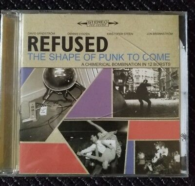 REFUSED – The Shape Of Punk To Come - CD- Converge/Deftones