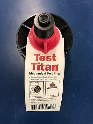 "LOT of 10 Sioux Chief Test Plug Test Titan Mechanical 3"" cleanout flood water"