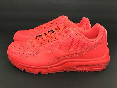 separation shoes 6fa12 b5d34 ... Mens Nike Air Max LTD 3 Running Shoes Bright Crimson 687977-666 Size  10.5 ...