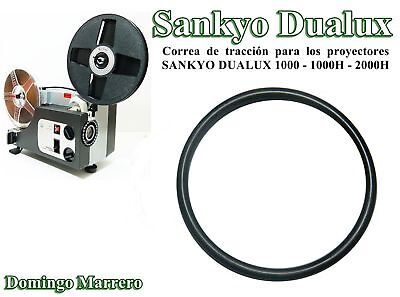 Drive Belt Super 8 Film Projector for SANKYO DUALUX 1000 - 1000H - 2000H