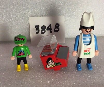 Vintage PLAYMOBIL 3848 Food Cart HOT DOG STAND - Replacement Parts