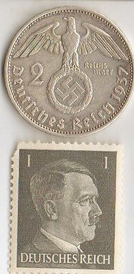 -*WW2 - *US  and  *german  coins / stamps+..