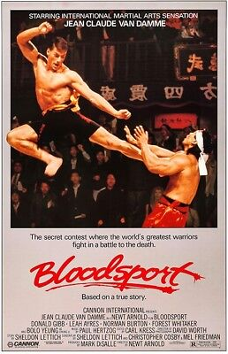 BLOODSPORT - CLASSIC MOVIE POSTER 24x36 - 52933
