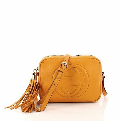 a1f5f8e330e60a GUCCI SOHO DISCO Crossbody Bag Leather Small - $1,015.00 | PicClick