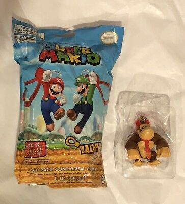 Official Super Mario Mystery Backpack Buddies Clip New Open Bag Donkey Kong