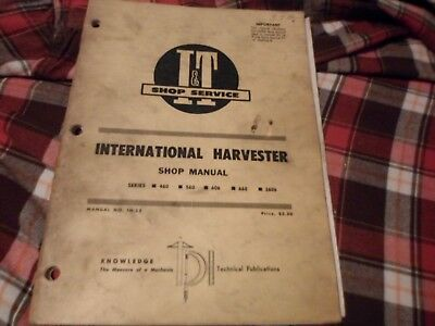 Ih international harvester collection of it shop service manuals ih 25 it shop service manual international harvester 460 560 606 660 and 2606 fandeluxe Choice Image