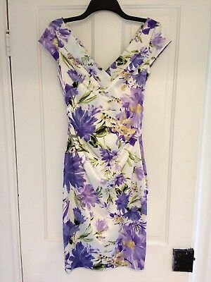 dc92f2c90d MAGGY LONDON FLORAL Dress Sheath ~ Size 4 ~ Excellent -  48.00 ...