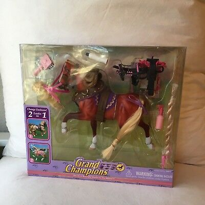NIB New Grand Champions Model Horse Hackney Mare 50077 Fancy Parade Collection