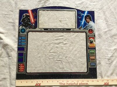 Very Rare Star Wars Pachislo Slot Machine Plexiglass