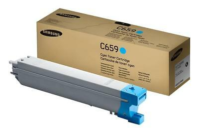 GENUINE Samsung 659 Cyan Toner Cartridge CLT-C659S/SEE