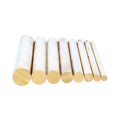 "4"" Solid Brass Round Bar Rod Stock, Dia 4mm 5mm 6mm 7mm 8mm 9mm 10mm 12mm"