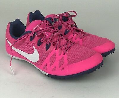 newest 33788 7fb73 Nike Zoom Rival MD 9.5 Women s MIDDLE DISTANCE Track Shoes 806559-615 Pink