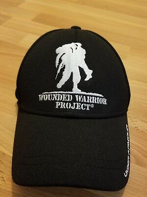 Under Armour Wounded Warrior Project Alumni Snapback Hat Baseball Cap Black  WWP b8cd7467e43f