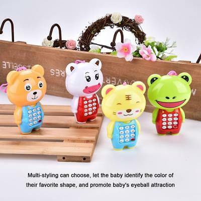 Baby Kid Children Cute Musical Cell Phone Toys Fun Learning Educational Toy Gift