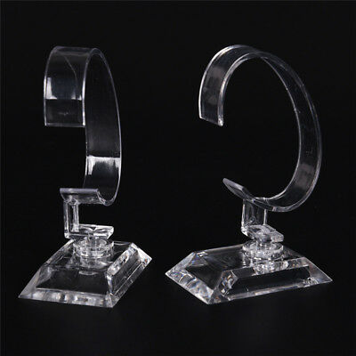 2x Clear Acrylic Desmontable Pulseras Jewelry Watch Display Holders Stand Rack v