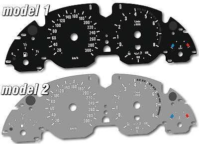 BMW E39 M5 - Replacement dial - converted from MPH to Km/h BLACK Dial Conversion