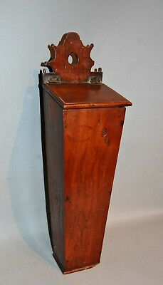 Antique C1780 Yew Tree Taper Box