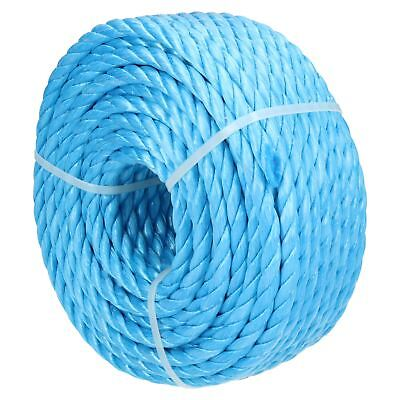 10mm x 30m Blue Multi-Purpose Utility Polypropylene Poly Rope Coil Fastening