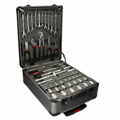 186pc Complete Tool Set Kit Toolbox Chest Spanners Sockets Pliers Screwdrivers