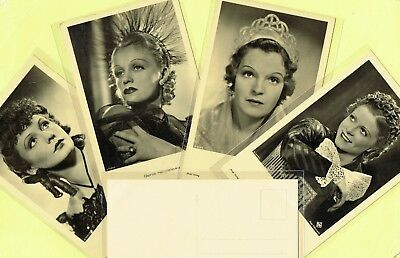 ROSS VERLAG - 1930s Film Star Postcards produced in Germany #A1001 to #A1149
