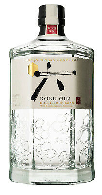42,84€/l Roku Gin The Japanese Craft Gin 43% Vol. 0,7 l