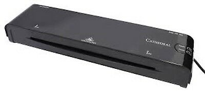 Cathedral A4 Laminator in Black for Home and Office